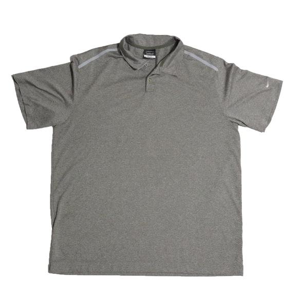 9d20e282e5b23 Nike Golf Dri Fit Vintage Golf Polo Shirt Size XL